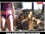 Pieprzenie w lesie