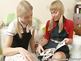 Dwie młode rosjanki