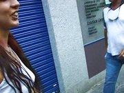 Ruda amatorka przed kamerką