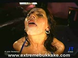 Usta pełne spermy