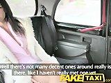 Pieprzenie pasażerki w taksówce