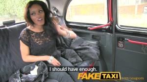 Czekoladka i napalony taksówkarz