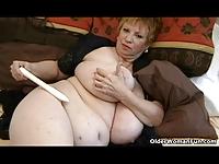 Wielka gruba babcia