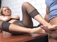 Seksy stópki fajnej sekretarki