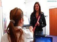 Katie pierwszy raz u Pani ginekolog