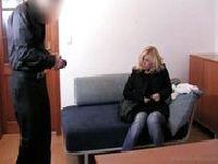 Seksy mężatka na castingu