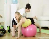 Trening gimnastyki