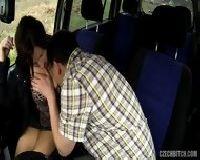 Europejka wskoczyła do samochodu na seks