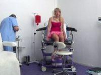 Marcy pierwszy raz u ginekologa