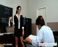 Nauczycielka daje dupeczki