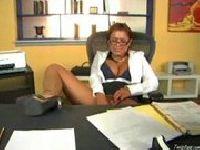 Sekretarka i jej dildo