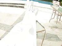 Biały i długi kutas
