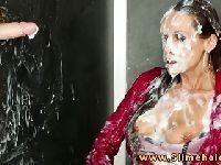 Gigantyczna ilość spermy