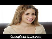 Masturbacja na castingu