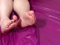 Jej słodkie stopy