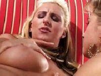 Blondi pieprzona w cipsko