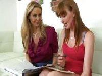 Julia Ann uczy Marie McCray