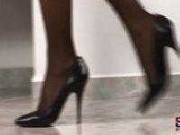 Sandra Shine i jej piękne stopy