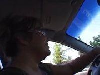 Samochodowa przejażdżka na kutasie
