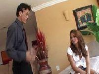 Allie Haze i brzydki ojciec kumpelki