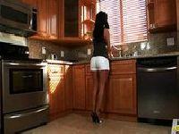 Sprzątacza w kuchni