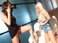 Sesja z seksowną panią fotograf