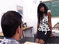 Czarna nauczycielka