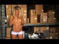 Aubrey Addams napalona na spermę