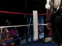 Blondynki ospermione na ringu