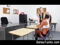 Lesbijki same w klasie