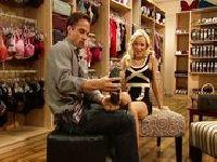 Masaż stóp w sklepie