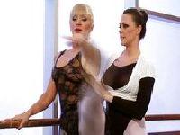 Baletnice po zajęciach