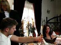Trójkąt w restauracji dla snobów