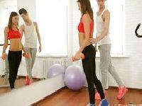 Gimnastyczki w akcji