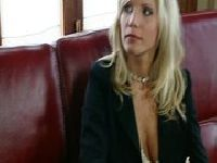 Głodne blondynki i dwie żylasty pały