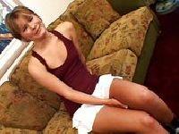 Claire Robbins na domowym castingu