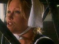 Pokojówka w fartuszku