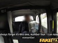 Gangbang w taxi