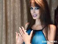 Handjob z Shandą Fay