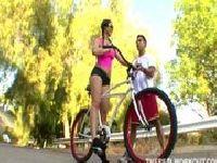 Trening cipki na rowerze