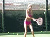Lekcja tenisa