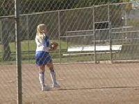 Seksowna fanka baseballu