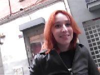 Czeska dupodajka zaczepiona na ulicy