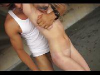 Zapiął ją i zaliczył w stylu BDSM