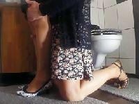 Zabawa w szkolnym WC