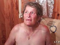 Babcina dupcia dawno nie widziała kutasa