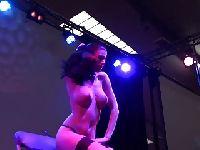 Striptiz na scenie