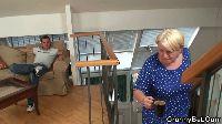 Młodziak rżnie babcię na schodach
