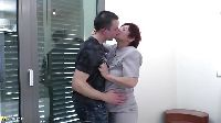 Zapuszczona 50-tka i jej kochanek