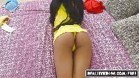 Brązowo-żółta paniusia